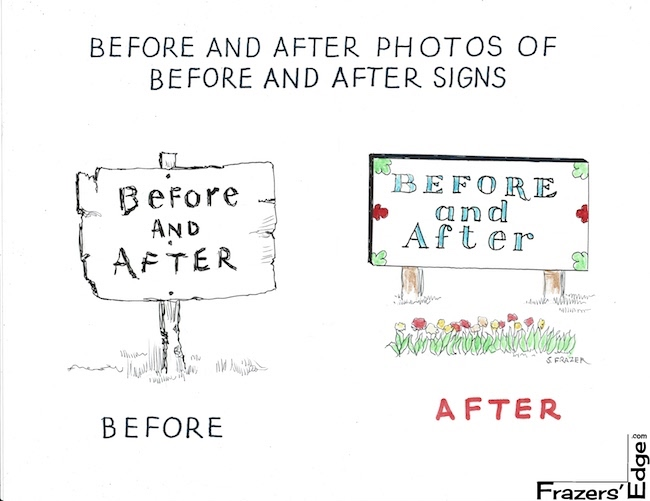 Before and After Signs LOGO