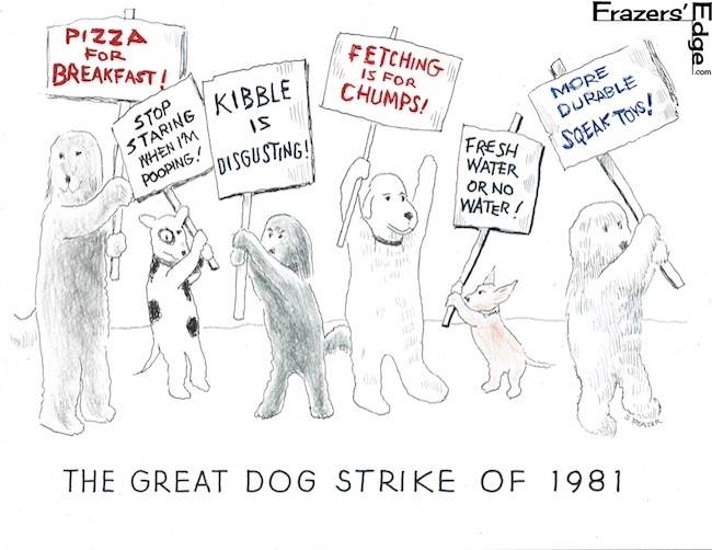 Dog Strike of 1981 LOGO