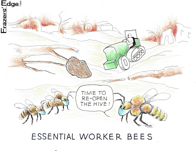 Essential Worker Bees LOGO