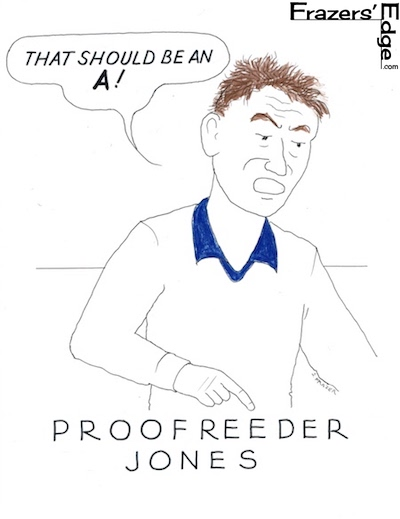 ProofreaderJones LOGO