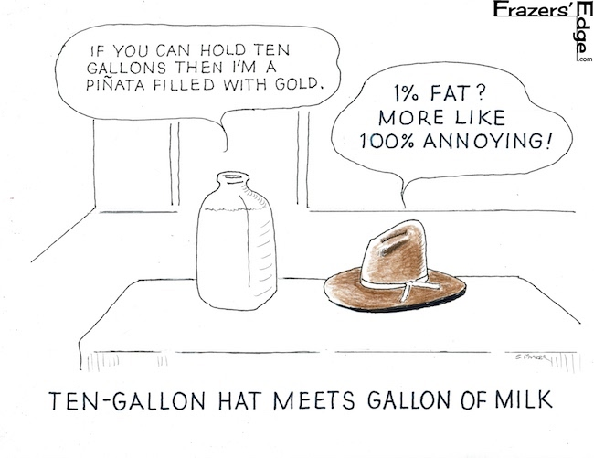 10 Gallon Hat vs. Milk 2 LOGO
